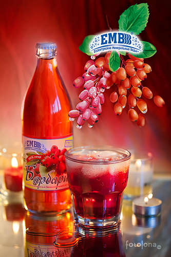 Non-alcoholic drink Barberry
